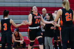 CIAC Girls Basketball; Wolcott vs. Watertown - Photo # 070