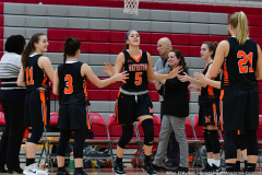 CIAC Girls Basketball; Wolcott vs. Watertown - Photo # 078