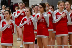 CIAC Girls Basketball; Wolcott vs. Watertown - Photo # 133