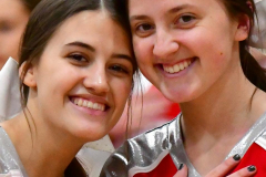 CIAC Girls Basketball; Wolcott vs. Watertown - Photo # 135
