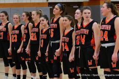 CIAC Girls Basketball; Wolcott vs. Watertown - Photo # 137