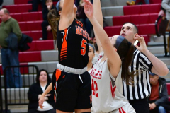 CIAC Girls Basketball; Wolcott vs. Watertown - Photo # 151