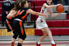 CIAC Girls Basketball; Wolcott vs. Watertown - Photo # 159