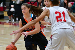 CIAC Girls Basketball; Wolcott vs. Watertown - Photo # 162
