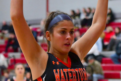 CIAC Girls Basketball; Wolcott vs. Watertown - Photo # 170
