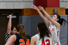 CIAC Girls Basketball; Wolcott vs. Watertown - Photo # 177