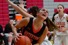 CIAC Girls Basketball; Wolcott vs. Watertown - Photo # 188