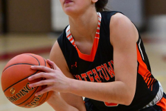 CIAC Girls Basketball; Wolcott vs. Watertown - Photo # 196