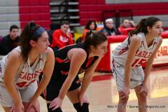CIAC Girls Basketball; Wolcott vs. Watertown - Photo # 206