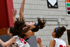 CIAC Girls Basketball; Wolcott vs. Watertown - Photo # 217