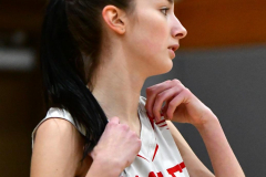 CIAC Girls Basketball; Wolcott vs. Watertown - Photo # 229