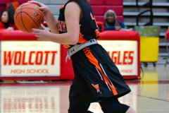 CIAC Girls Basketball; Wolcott vs. Watertown - Photo # 249