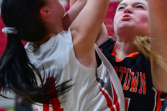 CIAC Girls Basketball; Wolcott vs. Watertown - Photo # 265