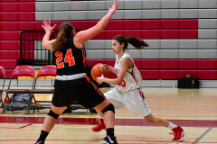 CIAC Girls Basketball; Wolcott vs. Watertown - Photo # 279