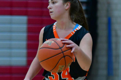 CIAC Girls Basketball; Wolcott vs. Watertown - Photo # 290