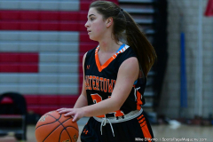 CIAC Girls Basketball; Wolcott vs. Watertown - Photo # 291