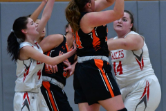 CIAC Girls Basketball; Wolcott vs. Watertown - Photo # 293