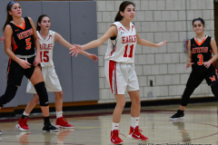 CIAC Girls Basketball; Wolcott vs. Watertown - Photo # 300