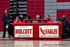 CIAC Girls Basketball; Wolcott vs. Watertown - Photo # 301