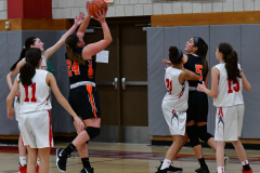 CIAC Girls Basketball; Wolcott vs. Watertown - Photo # 312
