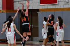CIAC Girls Basketball; Wolcott vs. Watertown - Photo # 313