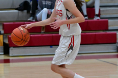 CIAC Girls Basketball; Wolcott vs. Watertown - Photo # 317