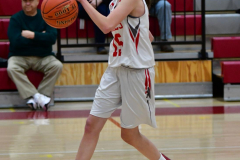 CIAC Girls Basketball; Wolcott vs. Watertown - Photo # 319