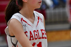 CIAC Girls Basketball; Wolcott vs. Watertown - Photo # 351