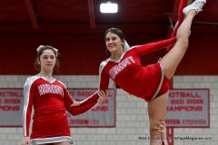 CIAC Girls Basketball; Wolcott vs. Watertown - Photo # 373