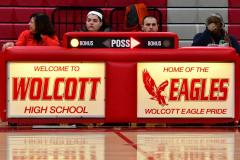 CIAC Girls Basketball; Wolcott vs. Watertown - Photo # 385