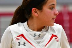 CIAC Girls Basketball; Wolcott vs. Watertown - Photo # 387
