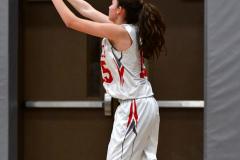 CIAC Girls Basketball; Wolcott vs. Watertown - Photo # 397