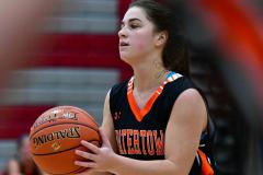 CIAC Girls Basketball; Wolcott vs. Watertown - Photo # 398