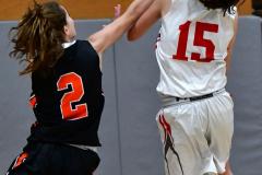 CIAC Girls Basketball; Wolcott vs. Watertown - Photo # 401