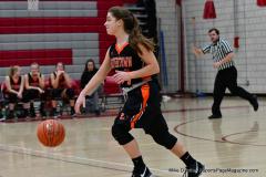 CIAC Girls Basketball; Wolcott vs. Watertown - Photo # 408