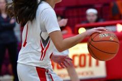 CIAC Girls Basketball; Wolcott vs. Watertown - Photo # 413