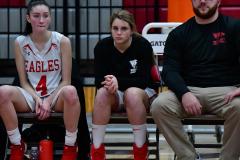 CIAC Girls Basketball; Wolcott vs. Watertown - Photo # 420
