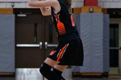 CIAC Girls Basketball; Wolcott vs. Watertown - Photo # 425