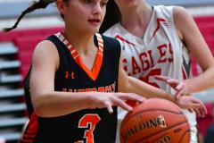 CIAC Girls Basketball; Wolcott vs. Watertown - Photo # 445