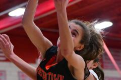 CIAC Girls Basketball; Wolcott vs. Watertown - Photo # 449