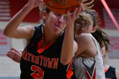 CIAC Girls Basketball; Wolcott vs. Watertown - Photo # 450