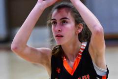 CIAC Girls Basketball; Wolcott vs. Watertown - Photo # 455