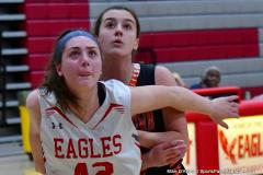 CIAC Girls Basketball; Wolcott vs. Watertown - Photo # 459