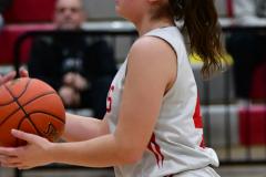 CIAC Girls Basketball; Wolcott vs. Watertown - Photo # 478