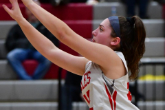 CIAC Girls Basketball; Wolcott vs. Watertown - Photo # 479