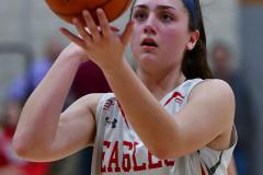 CIAC Girls Basketball; Wolcott vs. Watertown - Photo # 481