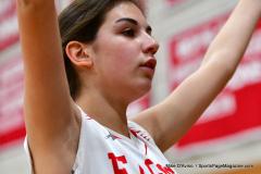 CIAC Girls Basketball; Wolcott vs. Watertown - Photo # 537