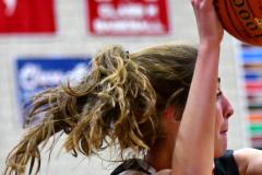CIAC Girls Basketball; Wolcott vs. Watertown - Photo # 540