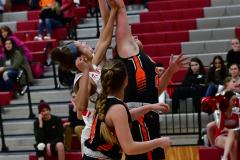 CIAC Girls Basketball; Wolcott vs. Watertown - Photo # 561