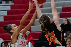 CIAC Girls Basketball; Wolcott vs. Watertown - Photo # 570